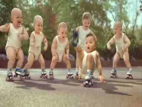 """Babies dancing to Michael Jackson's """"Billie Jean""""  (A must watch if you need a laugh.)"""