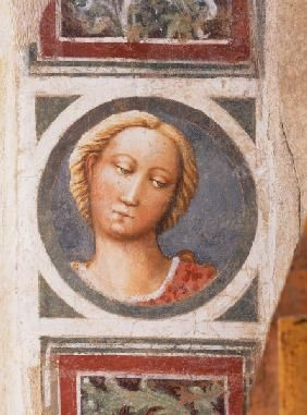 Masaccio  - Female Portr.