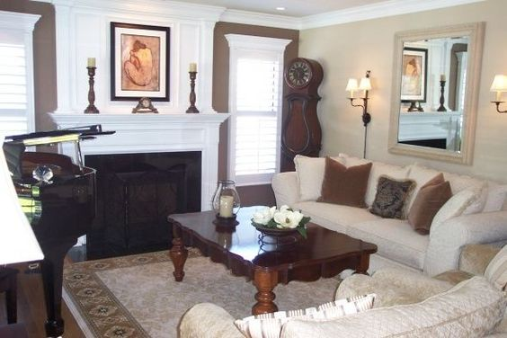 Dark Color Is Benjamin Moore Davenport Tan Light Color Is Benjamin Moore Bleeker Beige Living