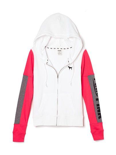 Perfect Full-Zip Hoodie PINK LP-337-587 (92M) 49.95 | Victoria ...