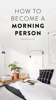 How to trick yourself into being a morning person
