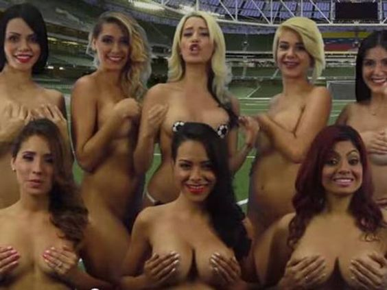 Venezuelan TV presenters strip naked to show support for national team at Copa America - International - Football - The Independent http://www.independent.co.uk/sport/football/international/venezuelan-tv-presenters-strip-naked-to-show-support-for-national-team-at-the-copa-america-10312220.html