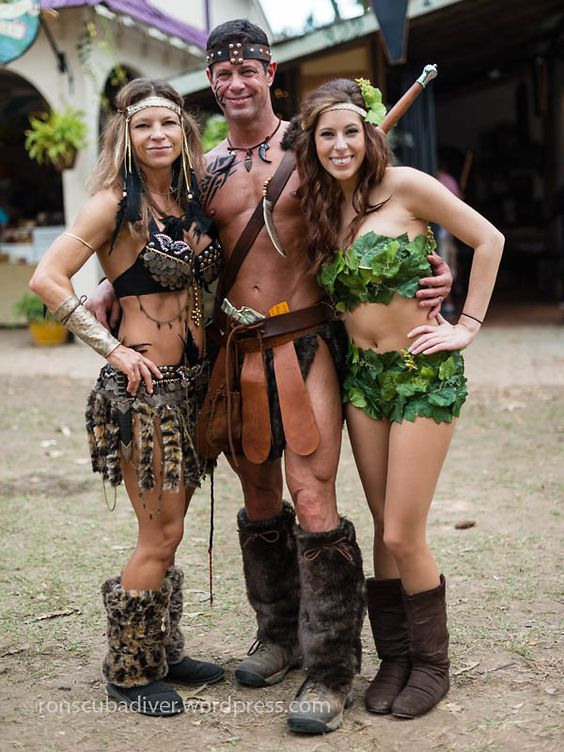 Barbarian Couple and Eve