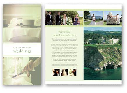 8 best Wedding brochures images on Pinterest | Brochures, Wedding ...