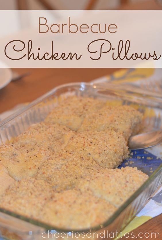 Barbecue Chicken Pillows #barbecue #kyvan #chickenrecipes