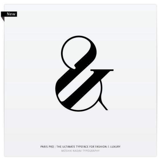 Paris Pro Regular Exit by Moshik Nadav Typography.