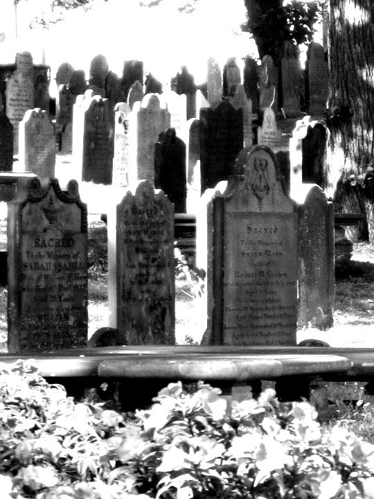 Titanic graveyard, Halifax, Nova Scotia:
