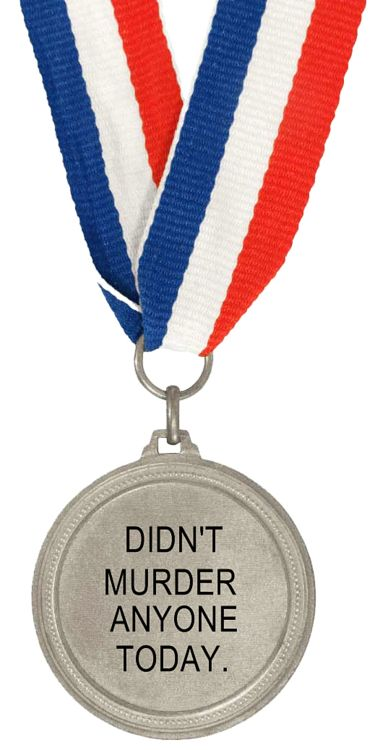 Image result for you didn't murder anyone, award