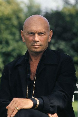 "Yul Brynner - (1920-1958) Died of lung cancer. Was a Russian born American based film and stage actor, model, TV director, author and photographer. Best know for his roles in ""The King and I"", ""The Ten Commandments"", ""Magnificent Seven"". etc."