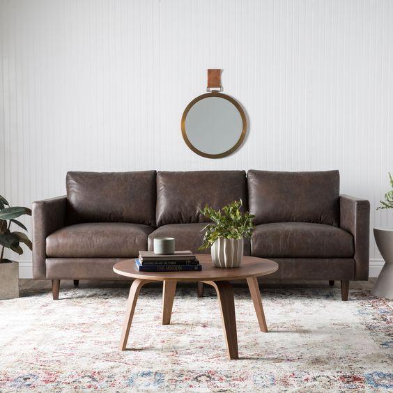 Mua sofa da thật tphcm cao cấp hoàn chỉnh phòng khách
