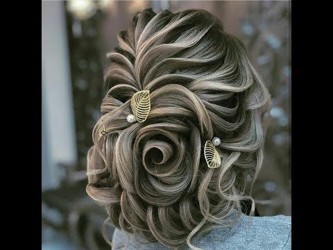 Bridal Hair Styles Youtube Hair Styles Bridal Hair Bridal Hair Buns