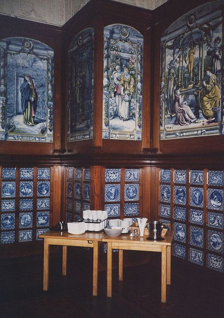 Victoria & Albert museum, tea room | Victoria & Albert Museum - Poynter Room / Dutch Kitchen / Grill Room ...