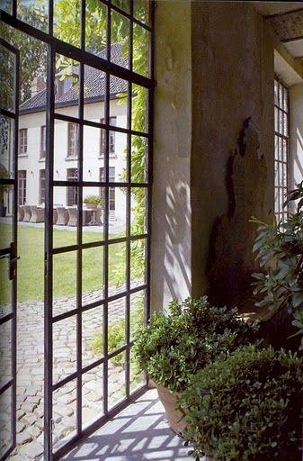 'factory' window gates: Windows Doors, Steel Doors, Doors Windows, Framed Door, Steel Windows