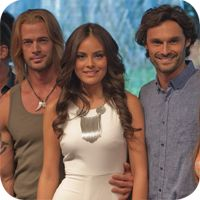 La Tempestad: William Levy, Ximena Navarrete e Ivan Sanchez
