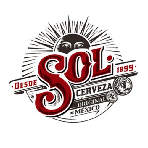 Pin By Artem Bogomolov On Logotipos Sol Beer Beer Logo Beer Label Design