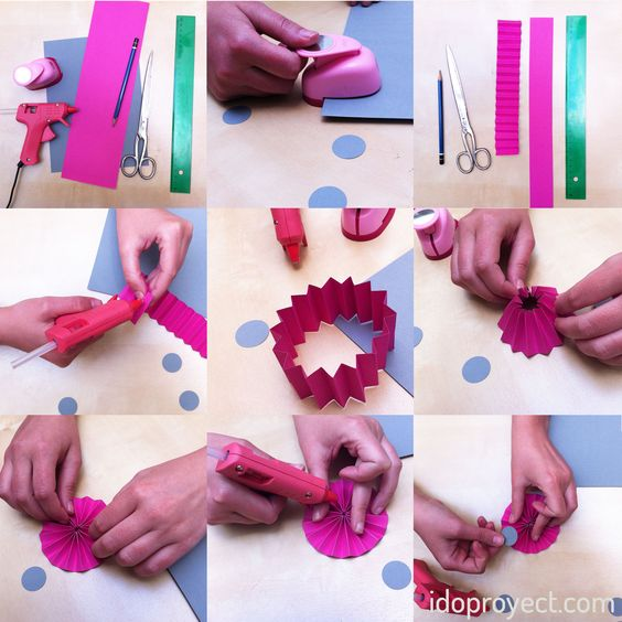 #DIY #paperribbon #ribbon process #galóndepapel #paperlove #scrapbooking #scrapbook #manualidades #idoproyect www.idoproyect.com