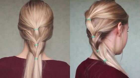 Medium Length Hairstyles - Easy Hairstyle in 2 Minutes - Medium Length Hairstyles 2016