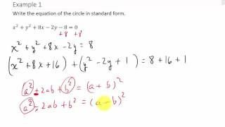 standard form to general form  Standard Form Of A Circle 5 Things To Expect When Attending ...
