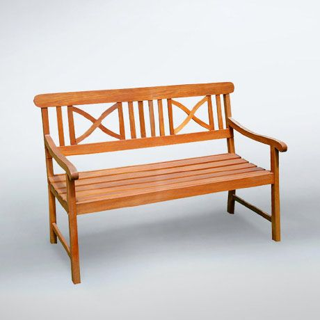 $89 - El Natural 4-Ft Soft Curve Garden Bench - This bench is made from premium grade  Grandis hardwood grown in 100% well managed forests certified by the FSC (Forest Stewardship Council). There is little difference between Eucalyptus and Teak when broken down to their core essence. The biggest attribute of Eucalyptus is undoubtedly the strength of the timber. It renowned for its excellent resistance to every day wear and tear. It is extremely durable and tightly...
