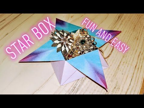 Origami Star Boxes with Printable Origami Paper - Picklebums | 360x480