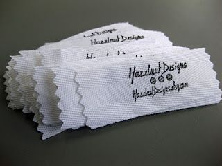 How to make fabric labels-great idea