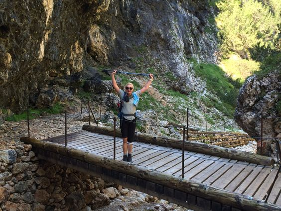 6 Tage Hüttenwanderung: Geschafft! - Jubel!