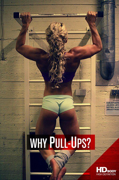 # The pull-up is the best way to work the biggest muscle group in your upper body: your m.latissimus dorsi, it's also one of the greatest muscle building exercises in existence, which is precisely why it's been called the upper body squat.  # It will help you a lot to increase your core strength (like deep squats or deadlift).  # If you have problems with your grip strength, then start doing pull-ups, it will give you an extra power boost to your under arms