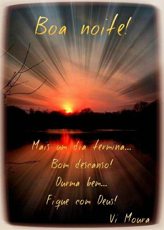 Boa Noite Recados De Boa Noite Citações De Boa Noite E