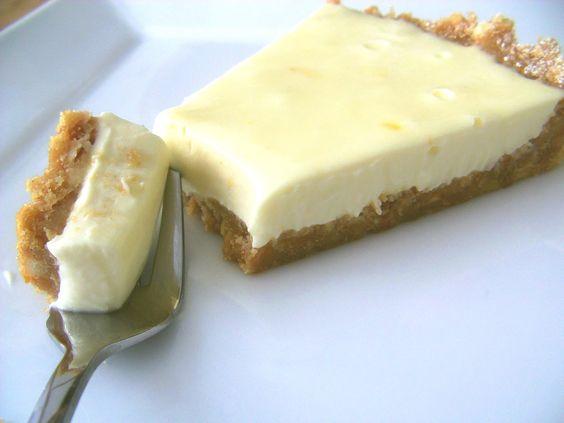 Easy Lemon Cheesecake - No Bake