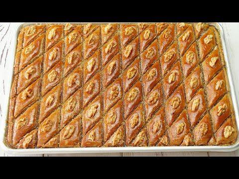 Azerbaycan Milli Metbeximiz Paxlava Resepti Qatlari Tek Tek Bilinen Paxlava Resepti Youtube In 2021 Turkish Recipes Tek Tek Cuisine