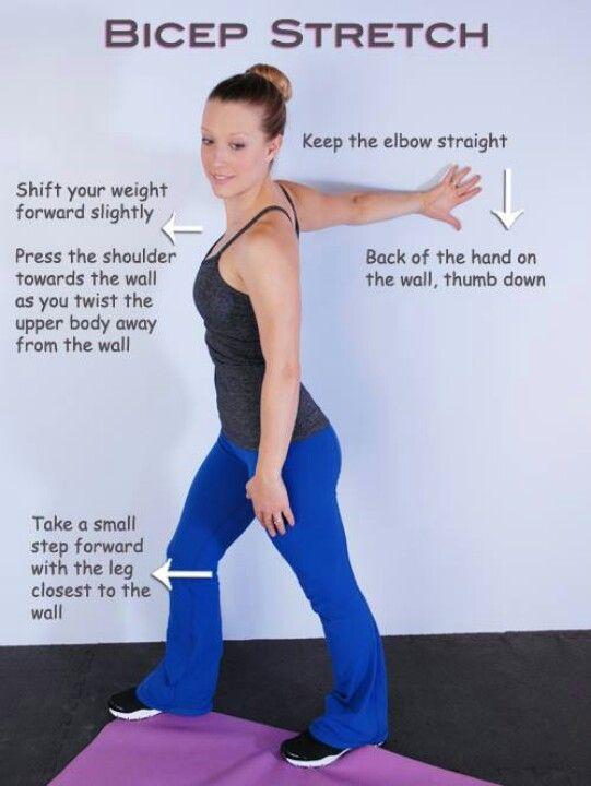bicep stretch - photo #1