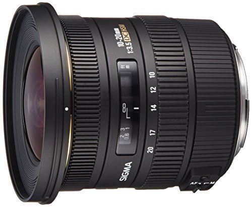 Sigma 10 20mm F 3 5 Ex Dc Hsm Eld Sld Aspherical Super Wide Angle Lens For Canon Digital Slr Cameras El Nikon Digital Slr Wide Angle Lens Best Wide Angle Lens