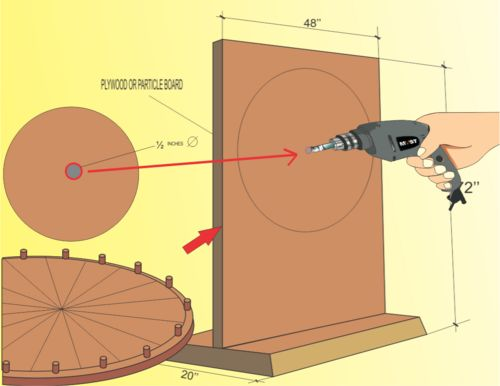 How to Make a Prize Wheel: 20 steps (with pictures) - wikiHow