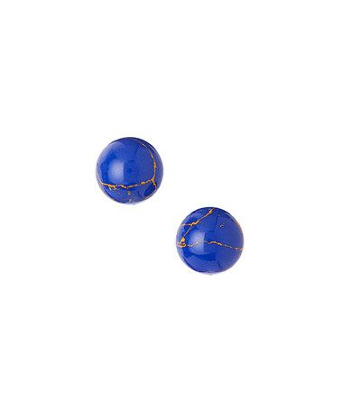 Another great find on #zulily! Lapis & Sterling Silver Stud Earrings #zulilyfinds