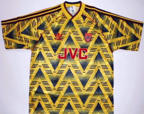 1991-1993 Arsenal Away Kit