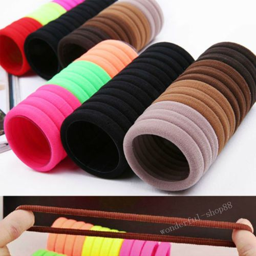 Hot-5-10-20Pcs-Girls-Elastic-Hair-Ties-Band-Rope-Ponytail-Bracelets-Scrunchie