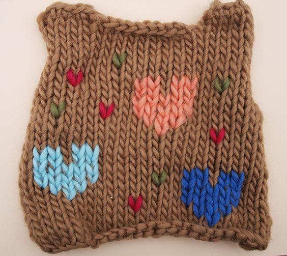 Comment tricoter un motif sur un pull - Comment faire une boutonniere au tricot ...