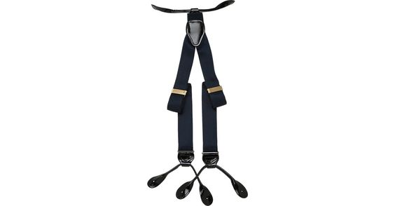 Check this out! Fancy Big and Tall Navy Silk Braces - Belts & Suspenders…