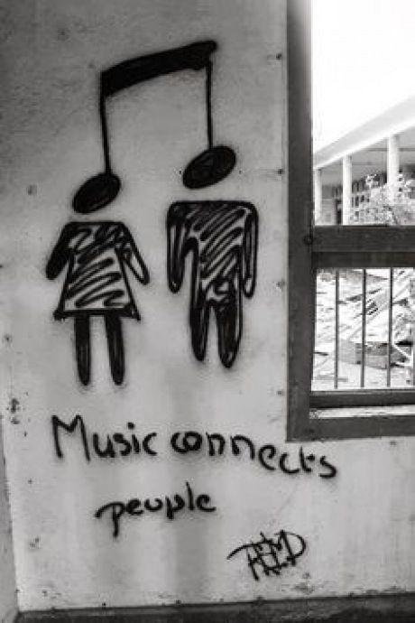 A música conecta as pessoas