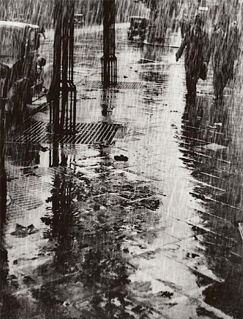 Dr. Paul Wolff & Alfred Tritschler Strasse Im Regen, 1925.