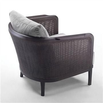 Flexform Mondo Armchair - Style # 221x1, Modern Armchair - Contemporary Armchair - Leather Armchair - Swivel Armchair | SwitchModern.com