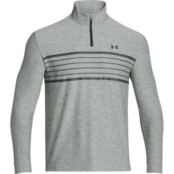 Under Armour ColdGear® Infrared Heartbeat ¼ Zip Golf Sweater (1248111) True Gray Heather, Anthracite, Anthracite (UA7)