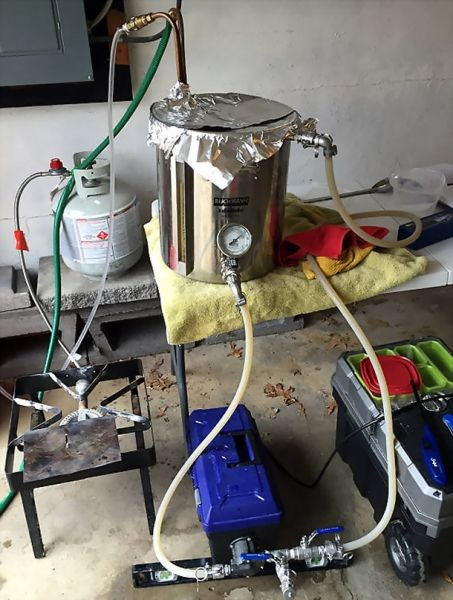 I have been brewing on my Recirculating Infusion Mashing System (RIMS) for a little over a year now, and am loving every minute of it. When I first started all-grain brewing, I could never quite get my mash temperatures right. It would always be too high or too low after adding the grains to the...  Read more »