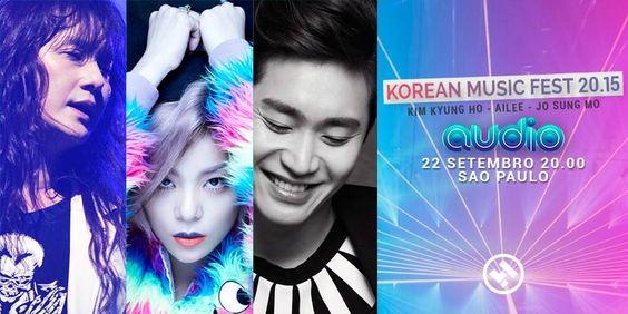 KOREAN MUSIC FEST 20.15 – Dia 22/9 em São Paulo