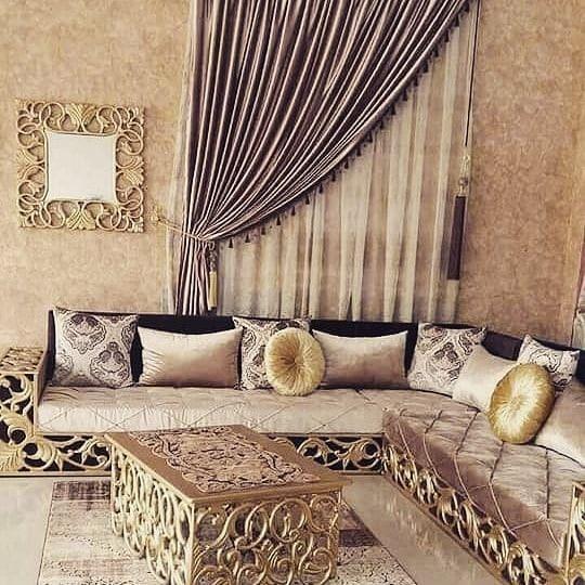 L Image Contient Peut Etre Interieur In 2020 Sofa Set Classic Sofa Sets Furniture