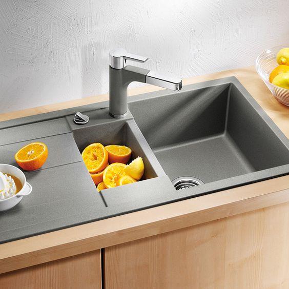 Spülbecken blanco silgranit  Blanco Spülbecken | Küche | Pinterest | Sinks and Modern
