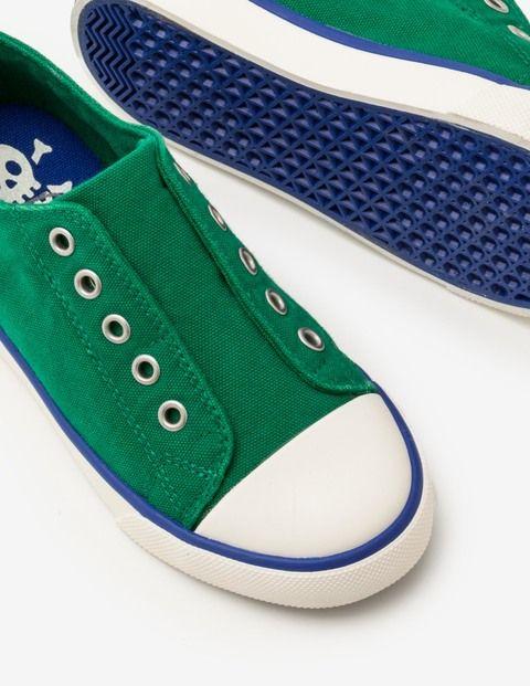 Laceless Canvas Shoes | Laceless