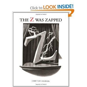 The Z Was Zapped: A Play in Twenty-Six Acts: Chris Van Allsburg: 9780395446126: Amazon.com: Books