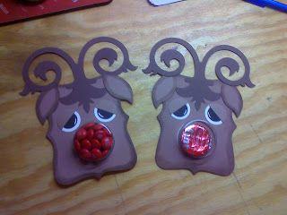 Creative Apple Scrampers: Rudolph Head
