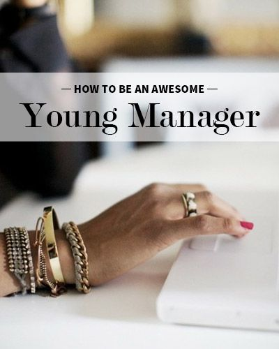 I worry about being a young manager. These are tips from someone who learned the hard way. Don't copy other managers, find your own style!